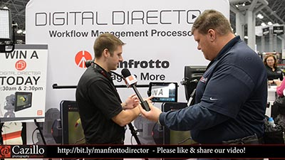 Manfrotto Digital Director First Official Apple iPad DSLR Tethering