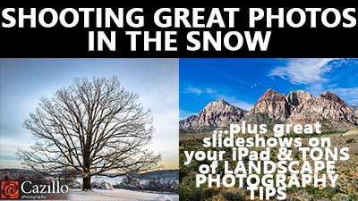 Shooting in the Snow & Landscape Photography Tips