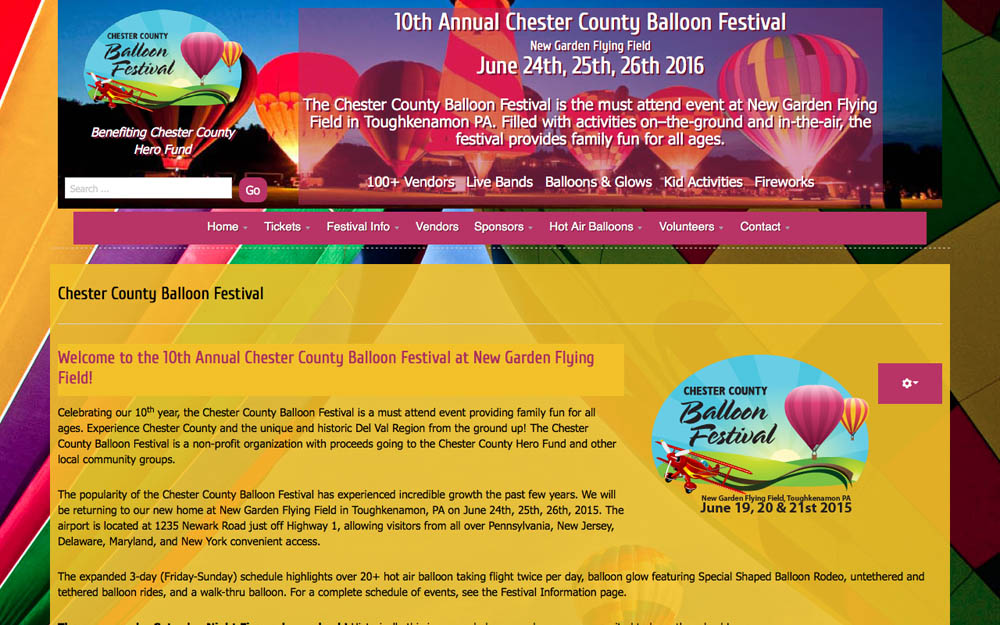 event website 1k